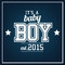Stock Image : Baby Boy 2015