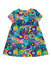 Stock Image : Baby dress with floral pattern.