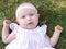 Stock Image : Baby girl