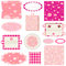 Stock Image : Baby girl design elements