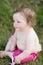 Stock Image : Baby Girl in Park