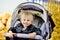 Stock Image : Baby  in stroller