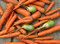 Stock Image : Background from carrot