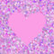 Stock Image : Background with hearts.