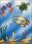 Stock Image : Background marine
