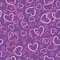 Stock Image : Background of pink hearts