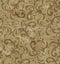 Stock Image : Background of  Spiky Swirls
