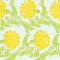 Stock Image : Background with yellow flowers. Seamless texture