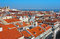 Stock Image : Baixa City Center of Lisbon Panoramic View