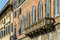 Stock Image :  Balcón de la casa italiana
