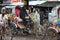 Stock Image : Bangladesh: Bicycle rickshaw
