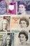 Stock Image : Bank of England and Scottish money