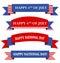 Stock Image :  Banner/de banners van de V.S. de patriottische