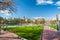 Stock Image : Barcelona green park
