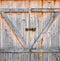 Stock Image : Barn door
