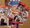 Stock Image : Baseball Player Collector Cards