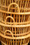 Stock Image : Basket rattan is Thai handmade