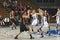 Stock Image : Basketball Action