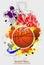 Stock Image : Basketball