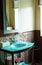 Stock Image : Bathroom detail modern style