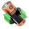 Stock Image : Battery recycling concept