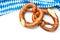 Stock Image : Bavarian pretzels