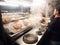 """Stock Image :  BBQ και shabu-Shabu κλήση """"Lok Lok† σε Kota Kemuning,"""