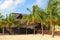 Stock Image : Beach restaurant in Cayo Coco