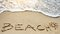 Stock Image : Beach sea sun - holiday concept
