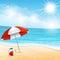 Stock Image : Beach