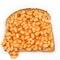 Stock Image : Beans on Toast