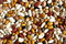 Stock Image : Beans on white background