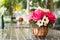 Stock Image : Beautiful artificial roses