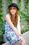 Stock Image : Beautiful asian girl