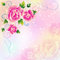 Stock Image : Beautiful background with roses