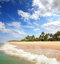 Stock Image : Beautiful beach landscape