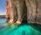 Stock Image : Blue caves, Zakinthos island, Greece