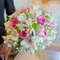 Stock Image : Beautiful bouquet in hand of bride
