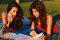 Stock Image : Beautiful college girls