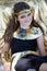 Stock Image : Beautiful Egyptian Girl