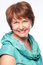 Stock Image : Beautiful fashionable smiling mature woman