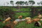 Stock Image : Beautiful Indian farmland scene