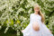 Stock Image : Beautiful pregnant woman outdoor