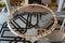 Stock Image : Beautiful ring shape lamp inside qatar Museum