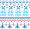 Stock Image : Beautiful seamless Norway pattern