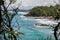 Stock Image : Beautiful wild coastline at Itacare, Bahia, Brazil. South America