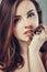 Stock Image : Beautiful young woman