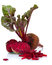 Stock Image : Beet with leaves