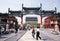 Stock Image : Beijing Qianmen Commercial Street。