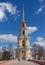 Belltower of Ryazan Kremlin. Central Russia